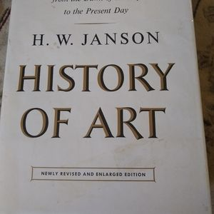 Vintage Copy of History of Art